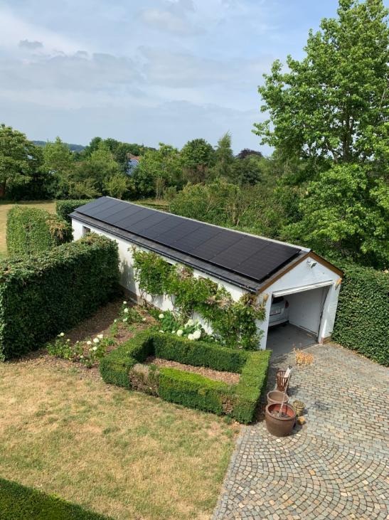 zonnepanelen op leien dak - Bierbeek