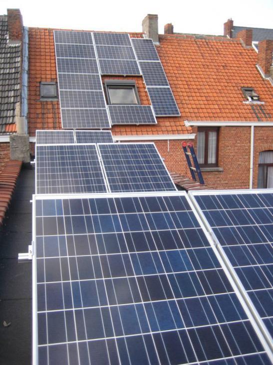 Zonnepanelen op pannen dak in Turnhout