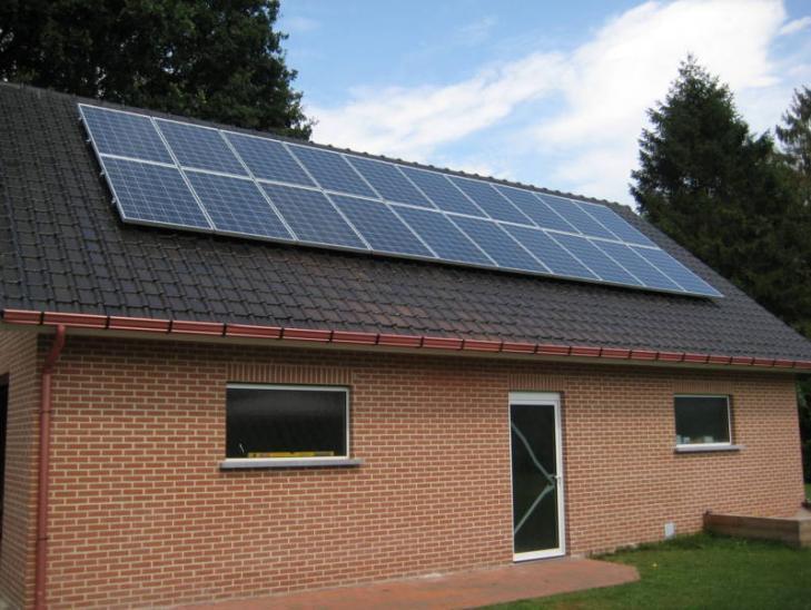 zonnepanelen op pannen dak in Oud-Turnhout