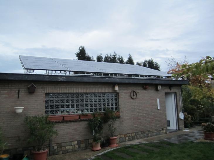 Zonnepanelen op plat dak Oud-Heverlee
